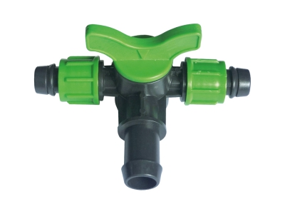 Mini Valve 3 Way Dripline - Grommet