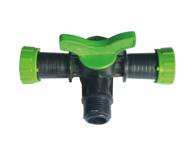 Mini Valve 3 Way Tape Male